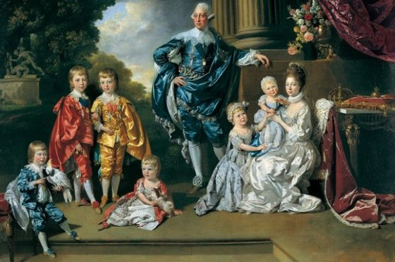 King George III and Queen Charlotte