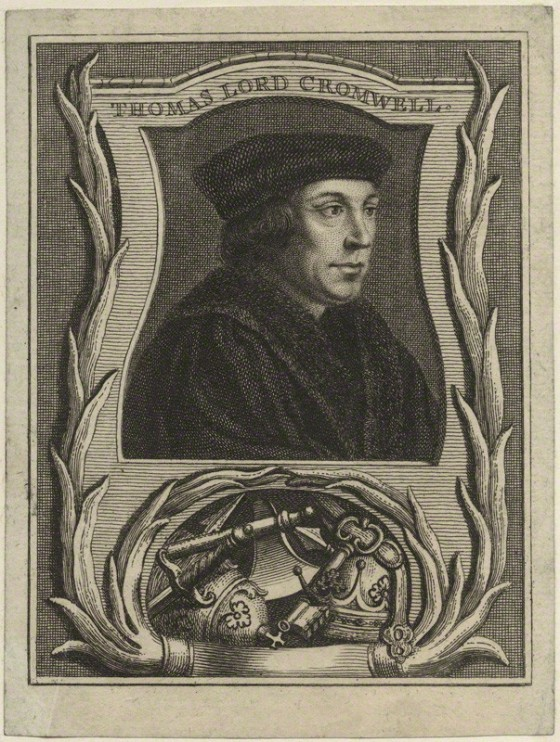 NPG D24213; Thomas Cromwell, Earl of Essex after Hans Holbein the Younger