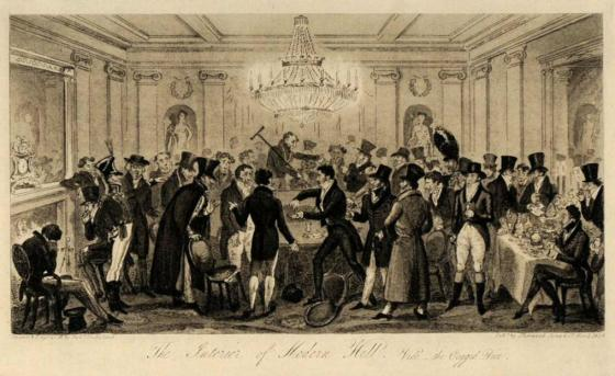 Gambling Hell by Cruikshank
