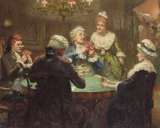The Whist Party by Edward Frederick Brewtnall