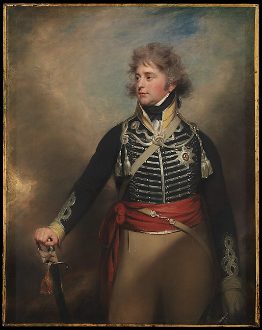 King George IV when Prince of Wales