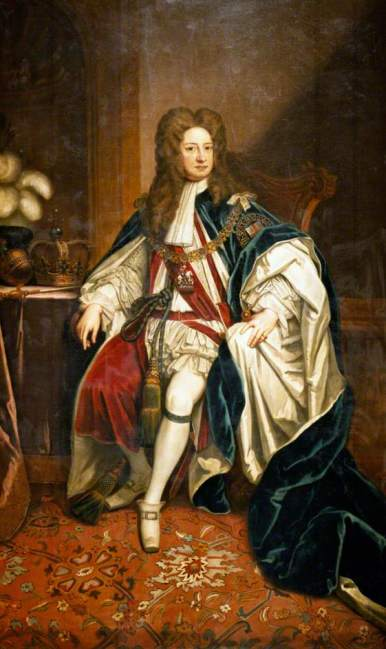 King George I reigned from 1714 to 1727