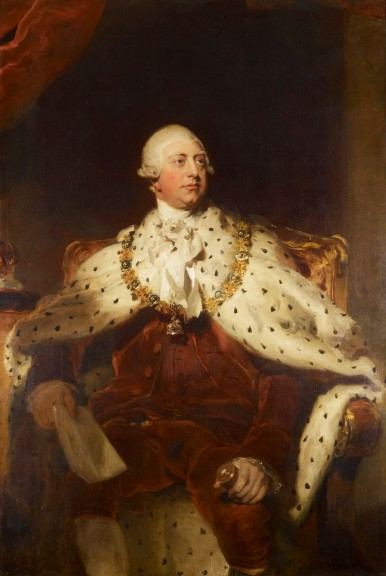 King George III reigned from 1760 to 1820