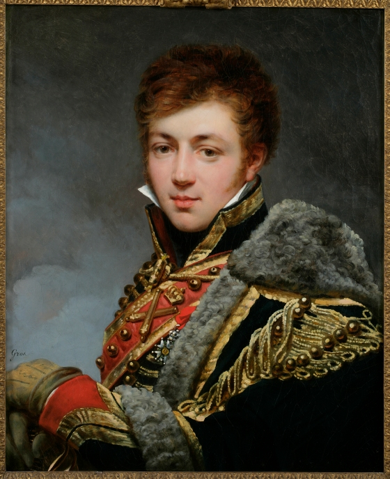 Cavalry Officer by Antoine-Jean Gros