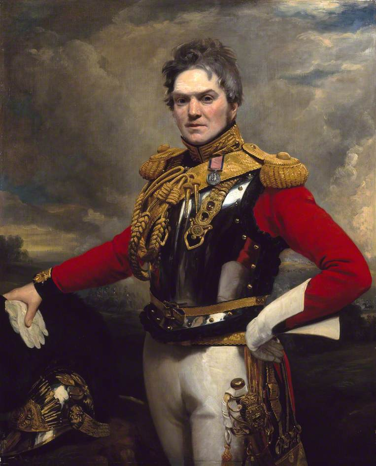 Portrait of Captain Alexander McInnes, 2nd Life Guards, by Ramsay Richard Reinage. 1825 (courtesy of National Army Museum; supplied by The Public Catalogue Foundation)