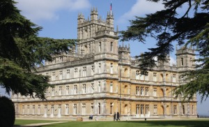 Highclere Castle, site of the fictional Downton Abbey (BritishHeritage.com)