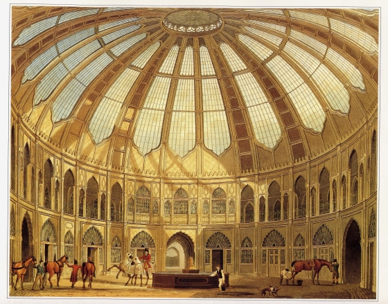 Stables at Royal Pavilion by John Nash