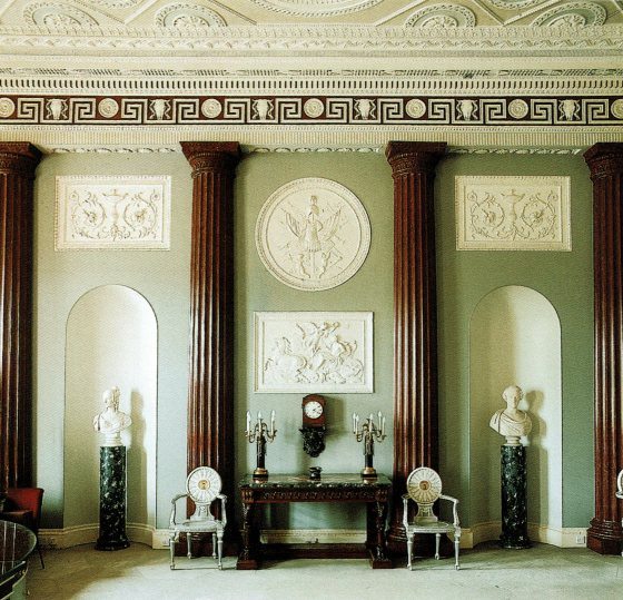 The Grand Entrance Hall at Harewood House.