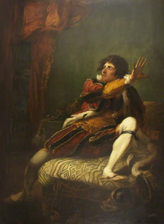John Philip Kemble as Richard III by William Hamilton. (c) University of Bristol Theatre Collection; Supplied by The Public Catalogue Foundation