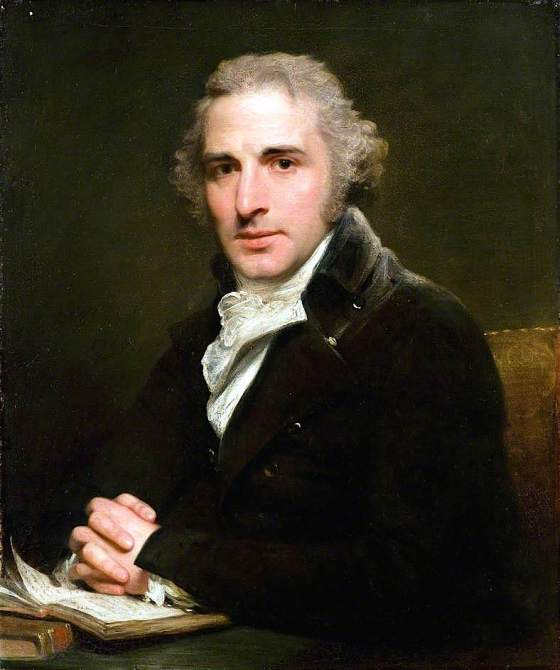 John Philip Kemble, by Sir William Beechey, 1799. (c) Dulwich Picture Gallery; Supplied by The Public Catalogue Foundation
