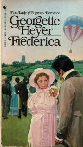 The cover of my well-worn copy of Frederica