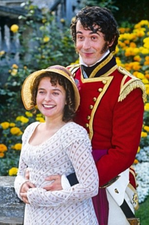Lydia Bennet and George Wickham as portrayed in the 1995 BBC production of Pride and Prejudice.